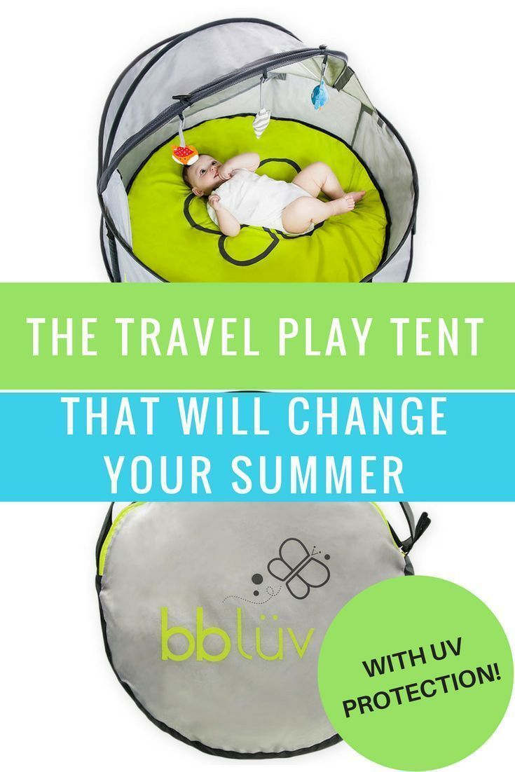 This 2 In 1 Travel And Play Tent Will Save Your Summer