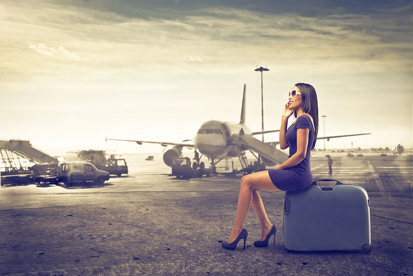 Imágenes Personas Viajando En Avion: Mujeres Viajando Solas Son Un Segmento Para El Turismo En