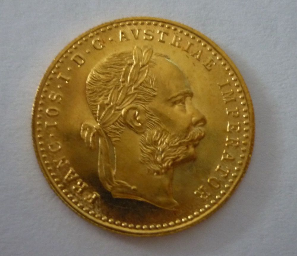 Details Zu österreich Ungarn 1 Dukat Gold 1915 Goldmünze Kaiser
