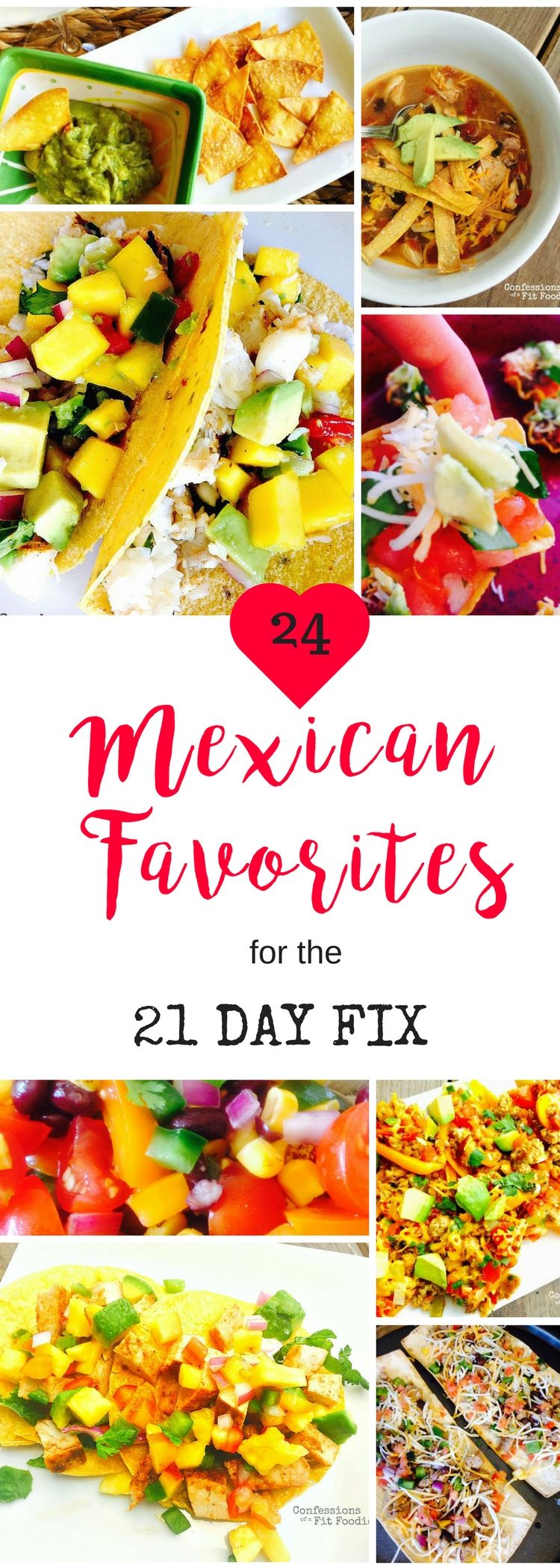 Photo of 21 Day Fix Healthy Mexican Recipe Roundup – Confessions of a Fit Foodie