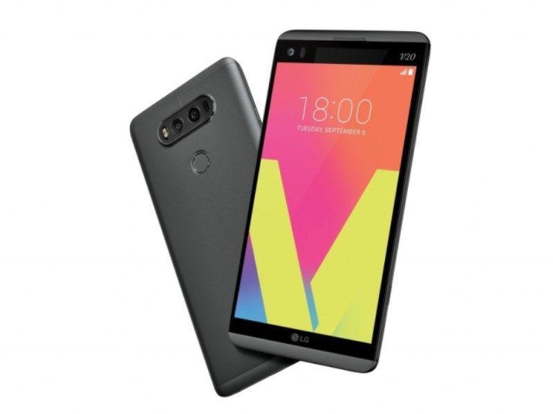 Lg v20 ls997 64gb titan black sprint smartphone b