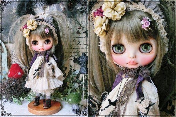 *Prettam*カスタムブライス***・。+.Sweet Lolita × natural Gothic*.。+・*_画像2