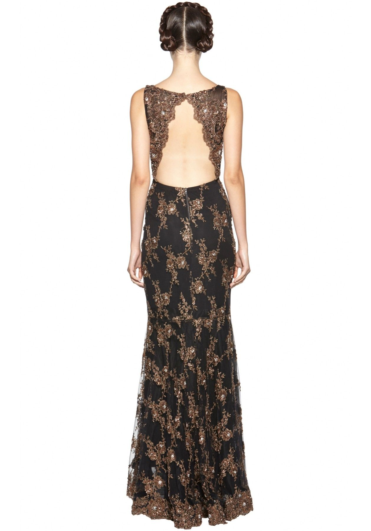 Alice and olivia long evening dresses