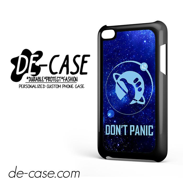 hitchhiker s guide to the galaxy don t panic for ipod 4 case phone rh pinterest ca iPod Touch 8th Generation iPod Touch 4th Generation