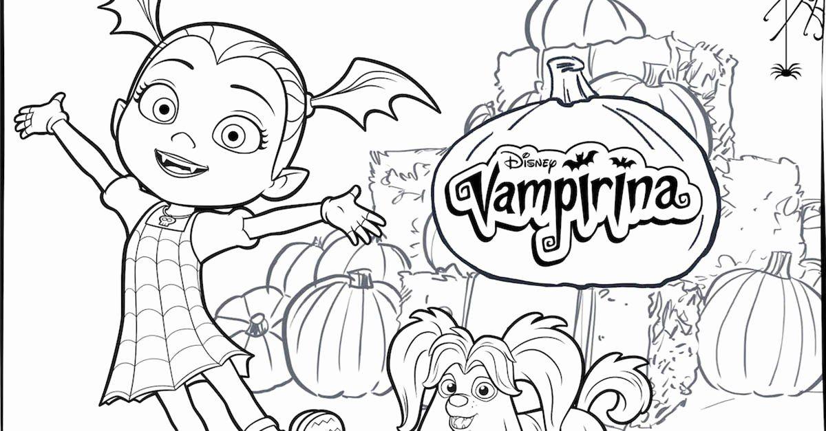 Disney Com Coloring Pages Elegant Vampirina Coloring Pages ...