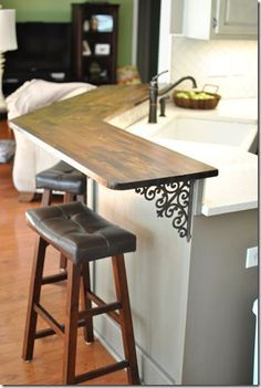 Diy Kitchen Bar Top Kitchen Design Small Kitchen Renovation