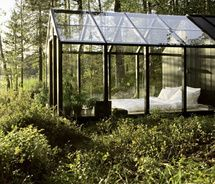 green-house bedroom.  Omg!  So cool!  Like sleeping outside under the stars!