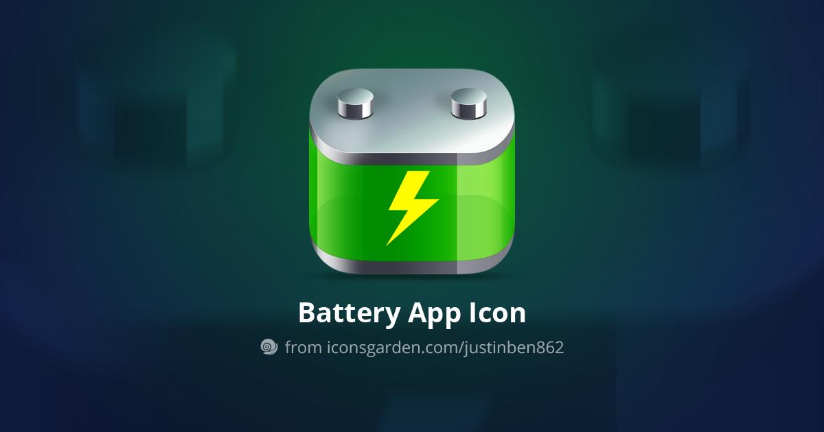 Icon Battery Thunder Iconsgarden in 2019 App icon