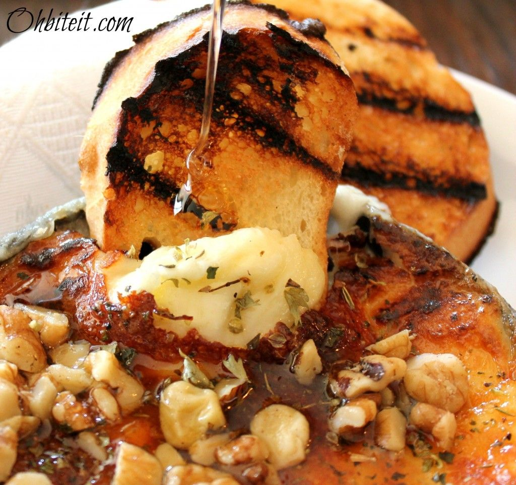 roasted provolone dip with honey and walnuts | Yummy and ...