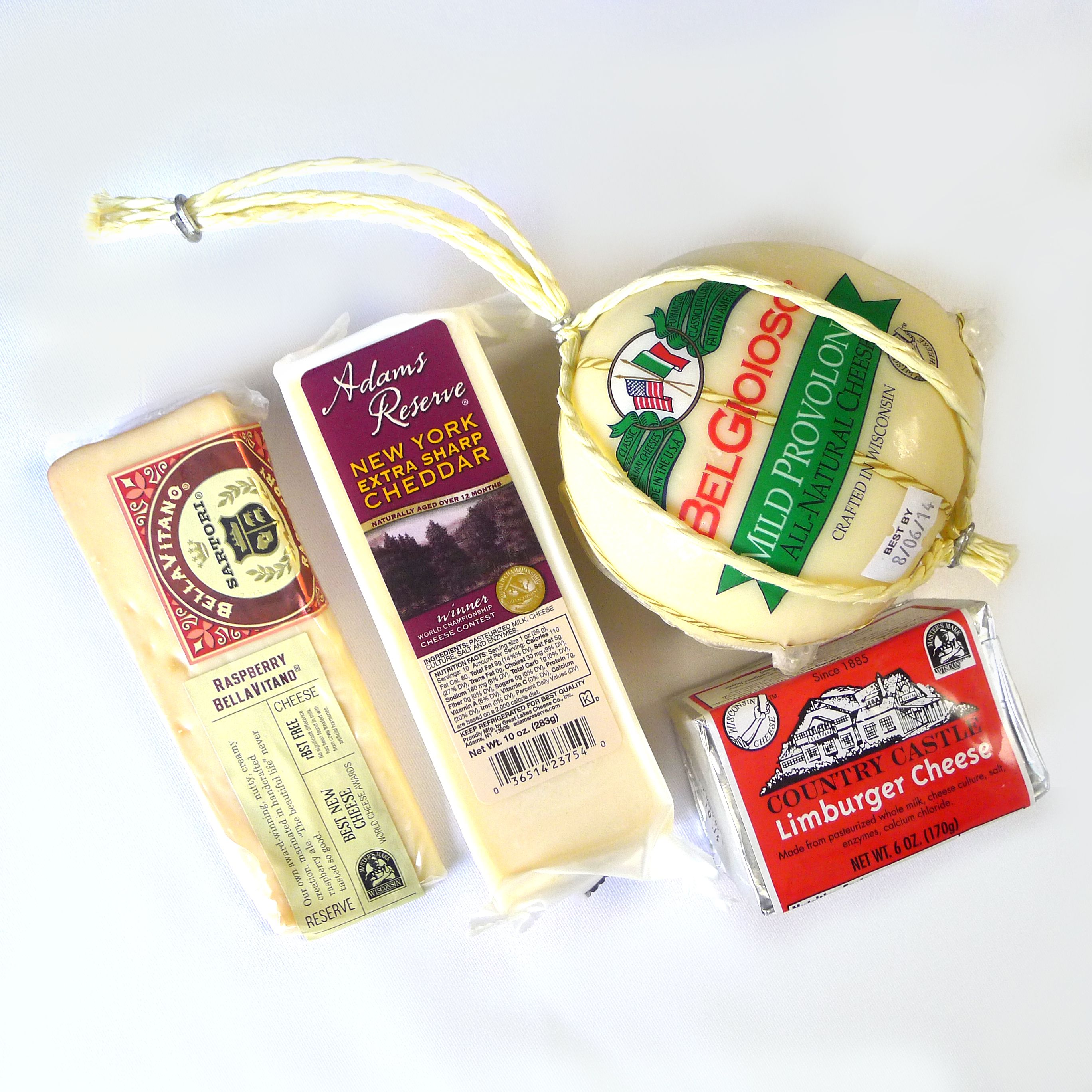 The November Cheese of the Month selections are: Adam's
