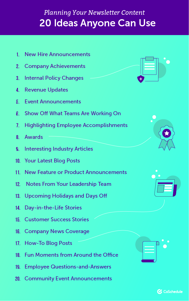 How to Create Awesome Internal Company Newsletters That