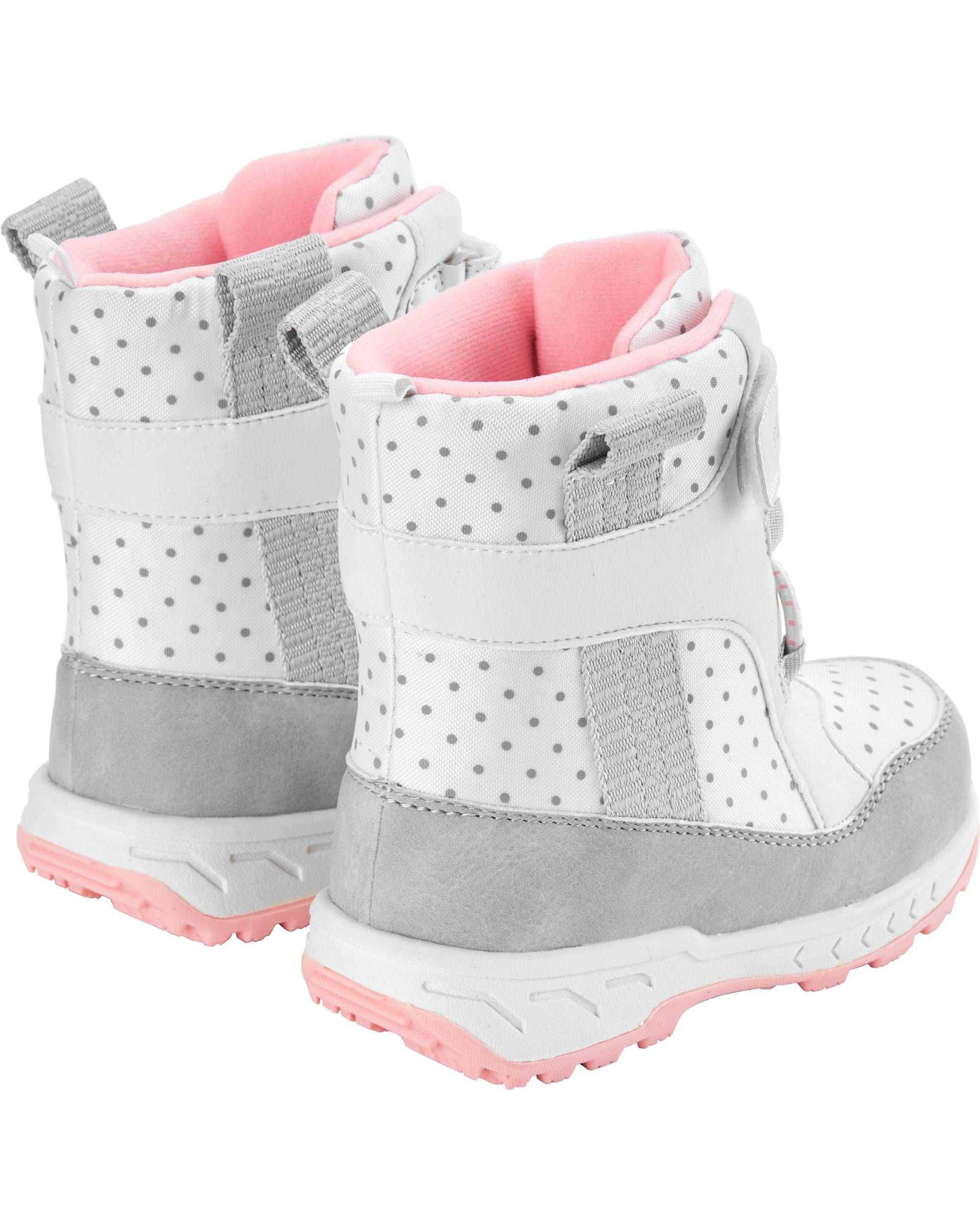 carters baby snow boots