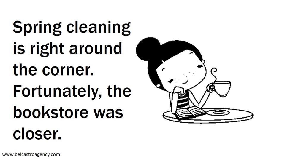 Spring cleaning is right around the corner. Fortunately