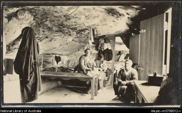 Unemployed Cave Dwellers Near Kernell Ie Kurnell New South