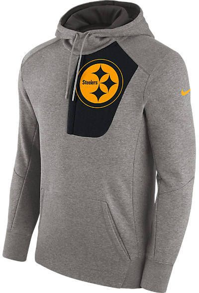 Men s Nike Pittsburgh Steelers NFL Fly Fleece Hoodie  8d2bd90cf