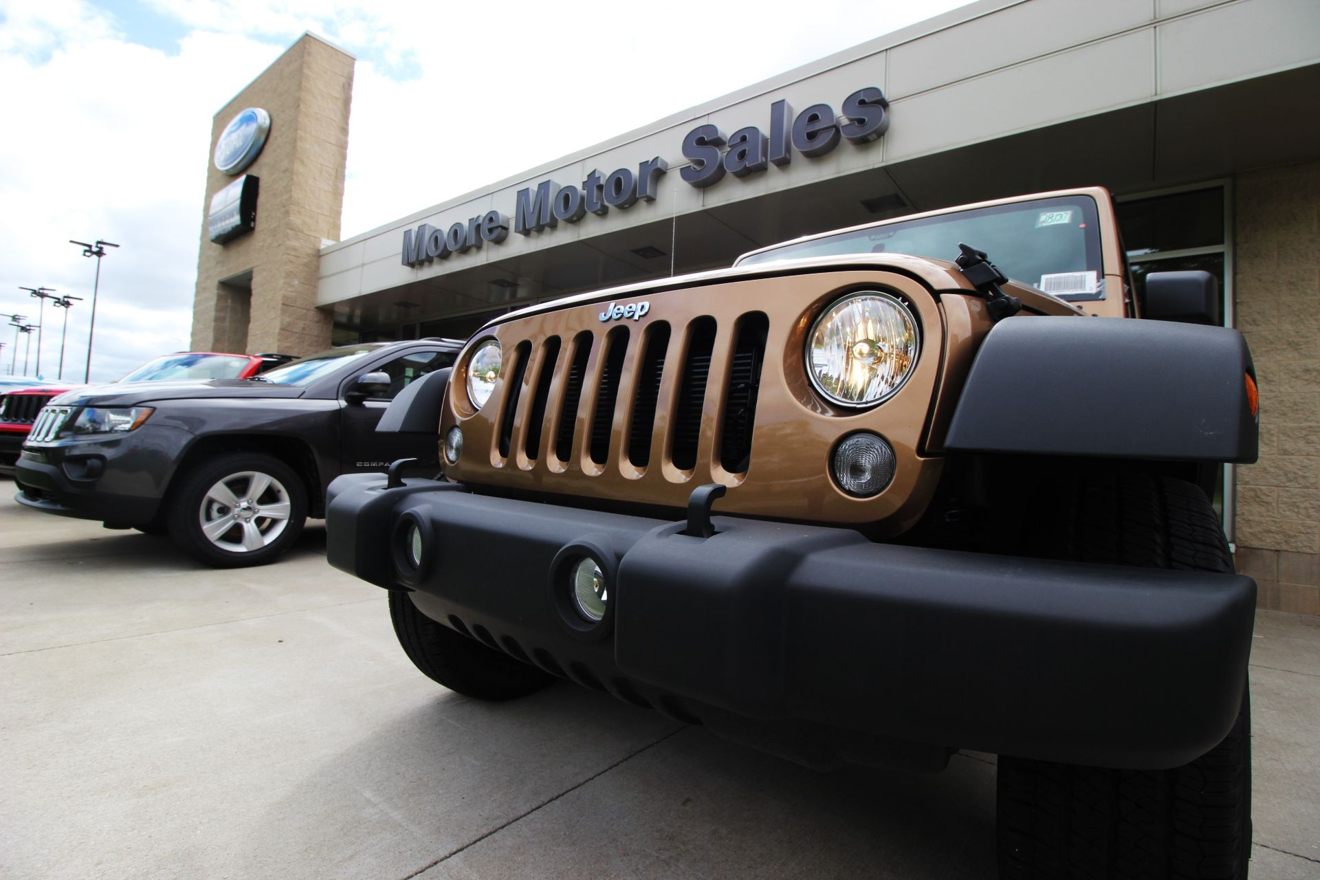New Jeep Wrangler at Moore Motor Sales Jeep, Chrysler