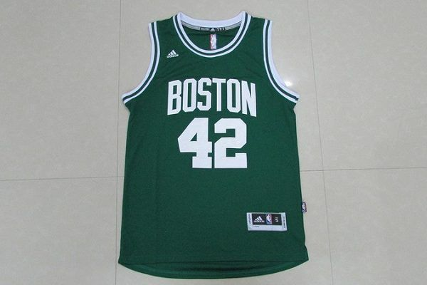 nwt boston celtics 42 al horford green swingman basketball men sewn jersey s