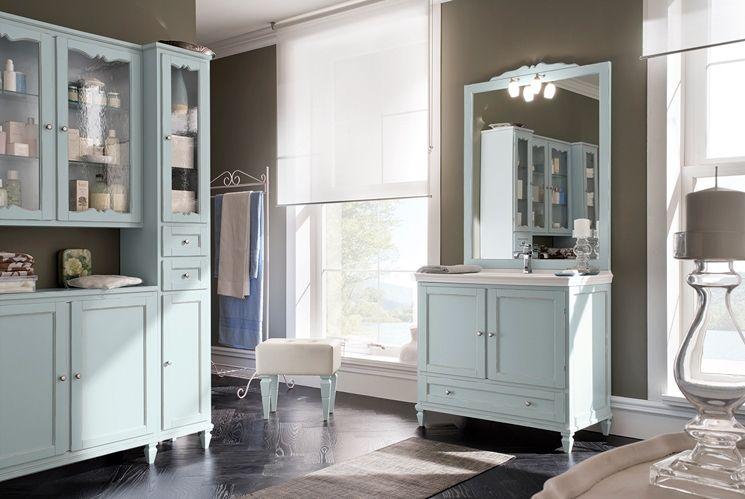 Provenzale Arredamento ~ Composizione bagno romantico e provenzale bagno arredamento