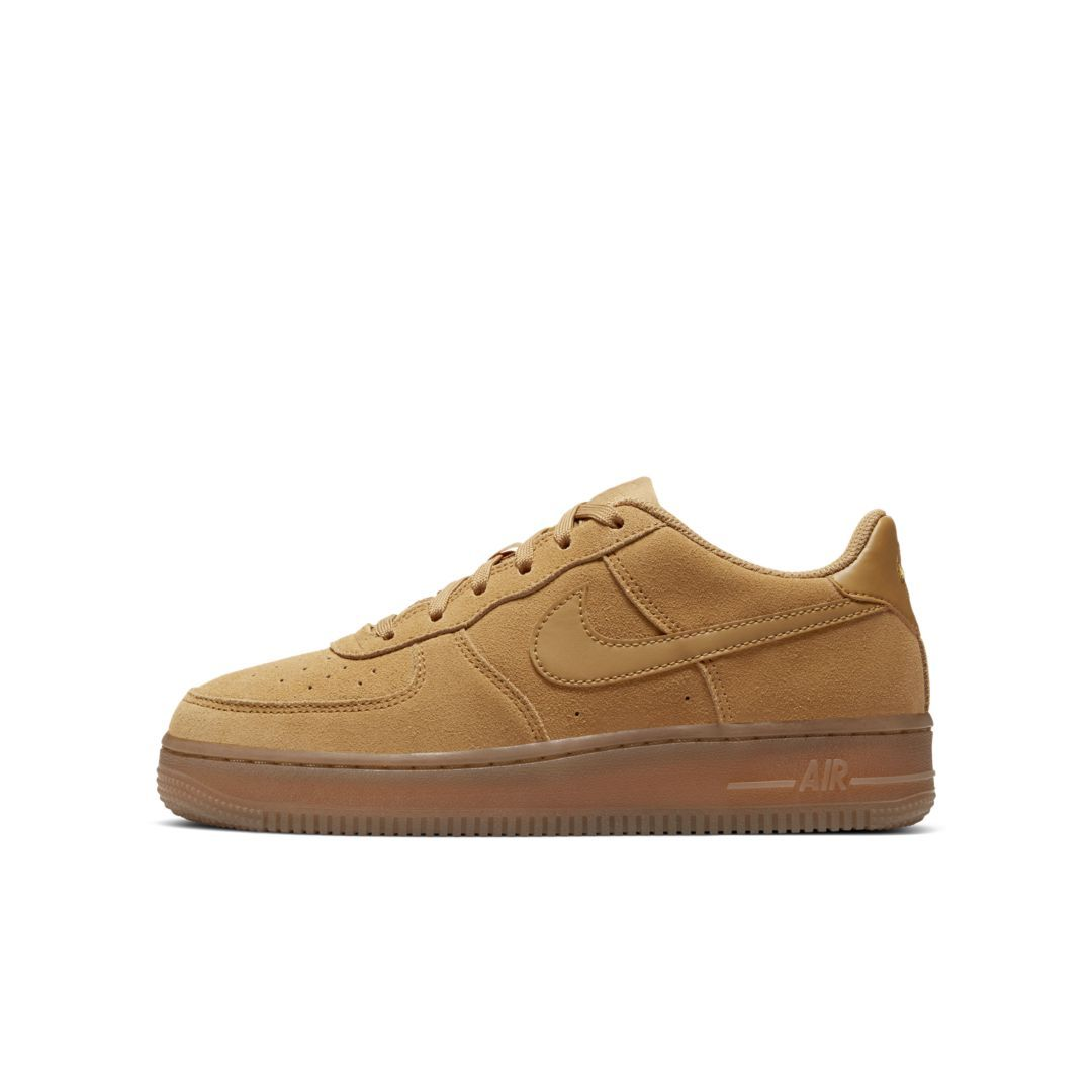 Nike Air Force 1 LV8 3 Big Kids' Shoe (Wheat) Børnesko  Kids' shoes