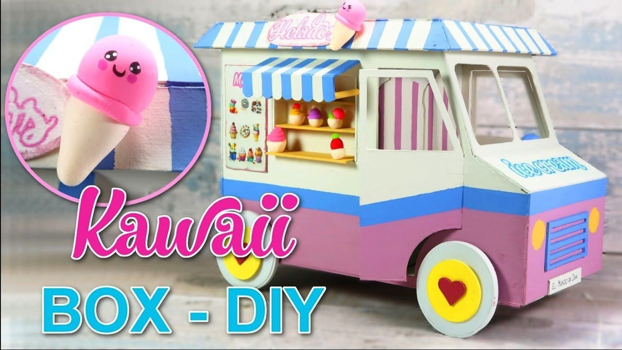 DIY CRAFTS CHILDREN ROOM DECOR - ORGANIZER BOX - EASY INEXPENSIVE Ideas KAWAII DIY CRAFTS CHILDREN