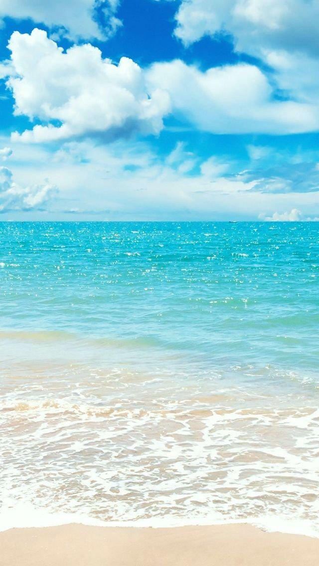 Relaxing Wallpaper Ocean Beach Scenes Ocean Beach