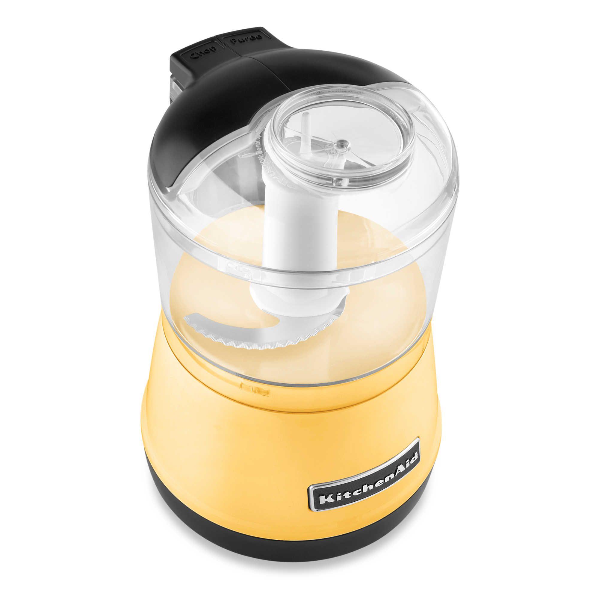 kitchenaid majestic yellow kettle