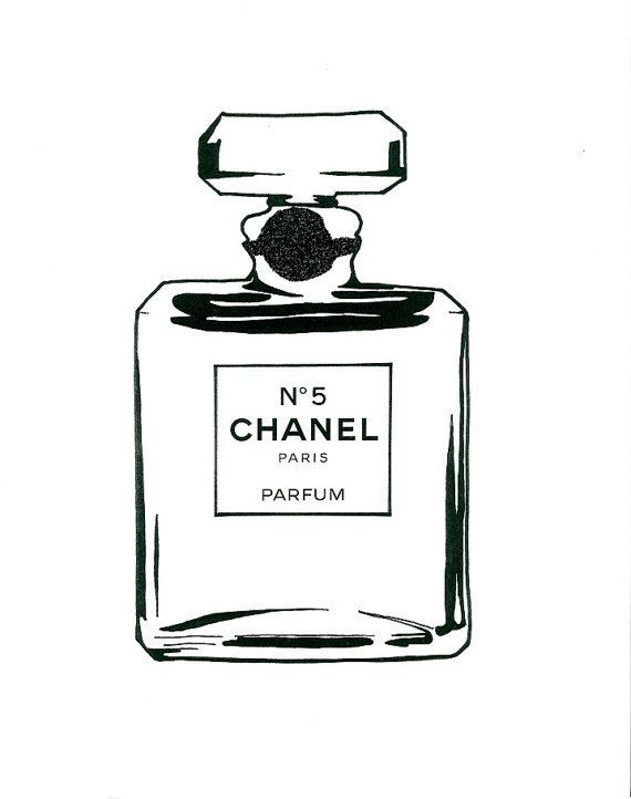 Chanel Bottle Chanel Art Chanel Poster Chanel Wall Art