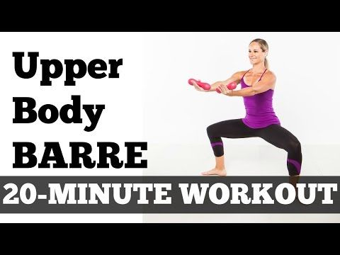 full workout exercise video barre fitness at home  20