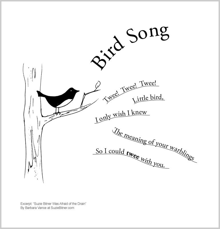 Cute spring children's poem about birds. Great for school ...