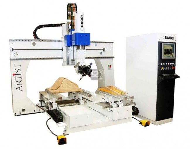 Bacci Master 2600 6 Axis Cnc Router For Furniture At Scottsargeant Woodworking Machinery Uk