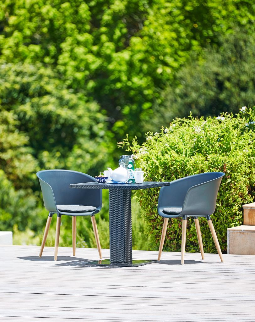 An Example Of Scandinavian Outdoor Style Garden Bistro Sets From Jysk