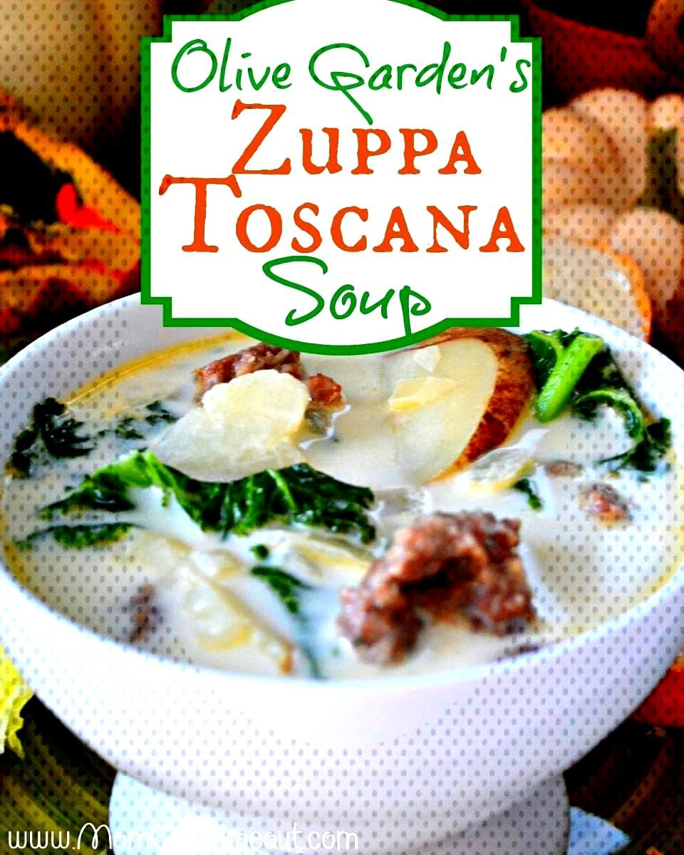 Copycat Olive Garden Zuppa Toscana Soup. Tastes exactly like the original - but better! Loaded with