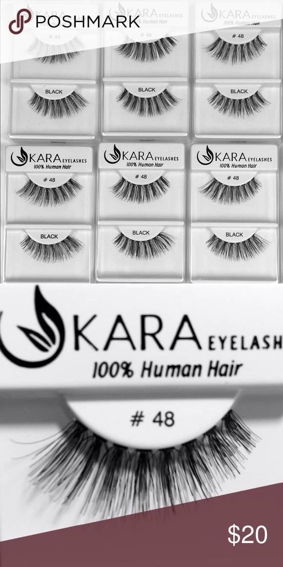 162ed53e46d KARA Eyelashes #48 (100% Human Hair) 6 PACK ✨ perfect lashes to bring out  your eyes. ✨ MAC Cosmetics Other