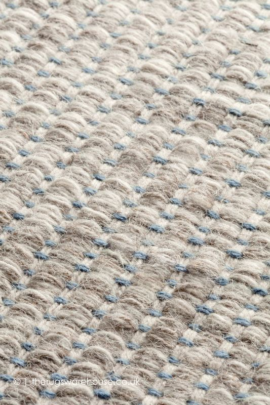 blue rug texture. Marvel Beige Blue Rug - Texture Close Up (by Ligne Pure), A Hand