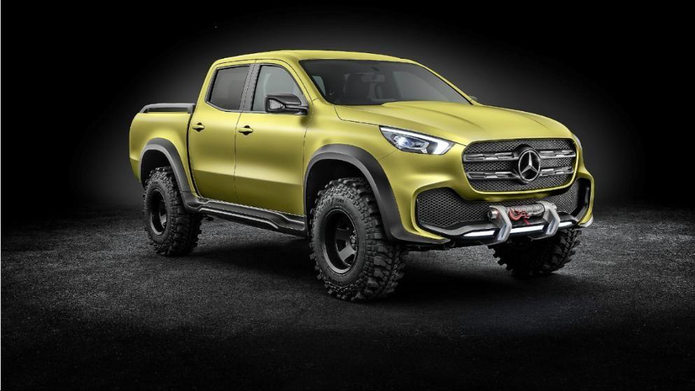 Mercedes Enthullt Neue X Class Ein Neuer Stern Am Pickup Himmel Mercedes Benz Pickup Trucks Und Mercedes Benz Vans