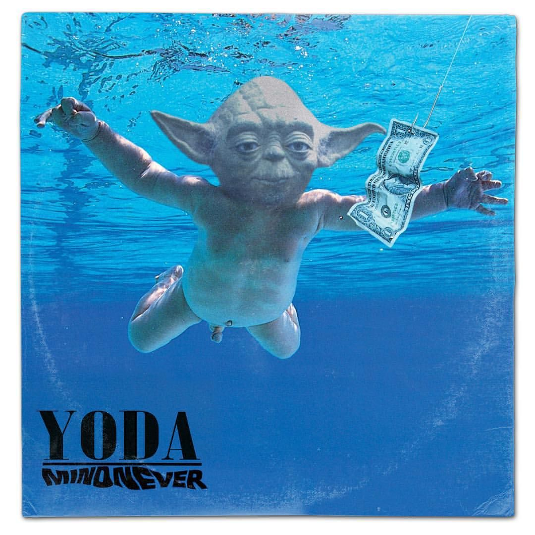 WhyTheLongPlayFaceさんはInstagramを利用しています:「#nirvana #nevermind #starwars #yoda #starwars #forceawakens #theforceawakens #foofighters #davegrohl #music #grunge #vinyl」