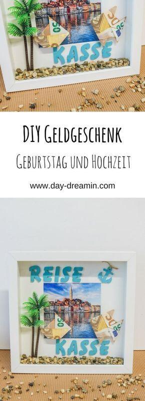 Bricolaje original dinero regalo vacaciones / luna de miel – daydreamin – blog
