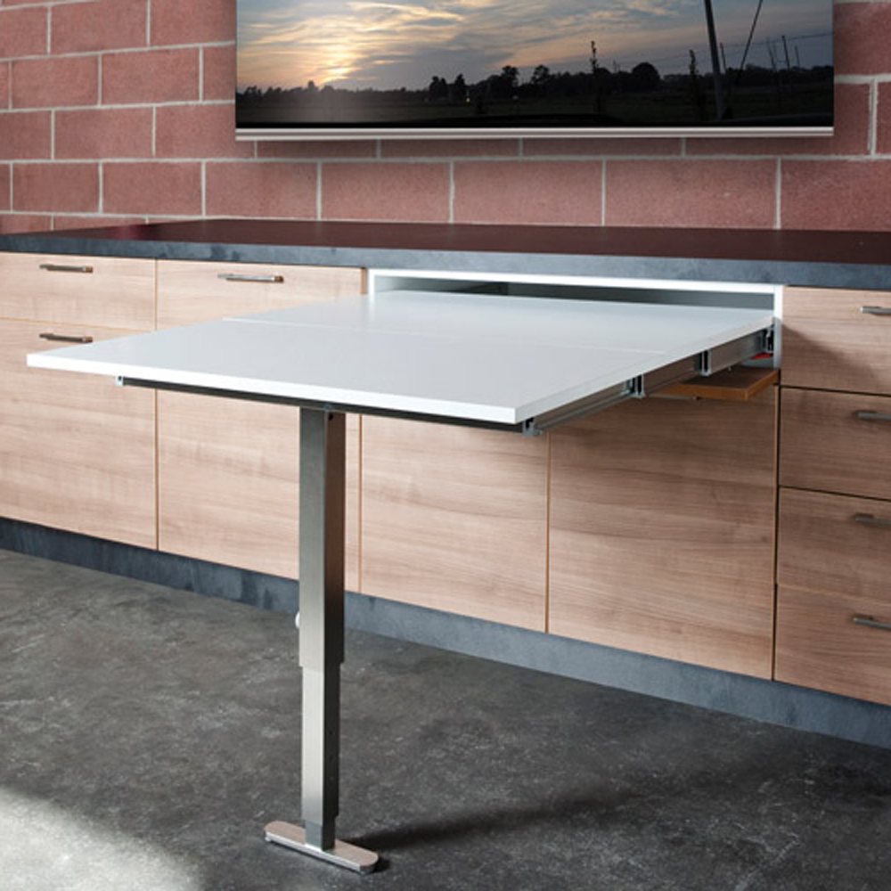 Table De Ping Pong Transformable pull out drawer table | herrajes para muebles