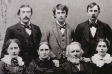 The Lansford Whiting Ingalls Family ( minus Charles and others) Lansford James - George - Hiram Lydia Louisa - Laura - Lansford - Ruby