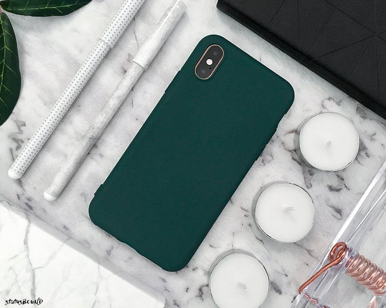 Green Iphone Case Iphone Xs Max Case Iphone Xs Case Iphone Xr Case Iphone X Case Iphone 8 Plus Case Iphone 8 Case 7 Plus 7 6s 6 Silicone Green Iphone Case