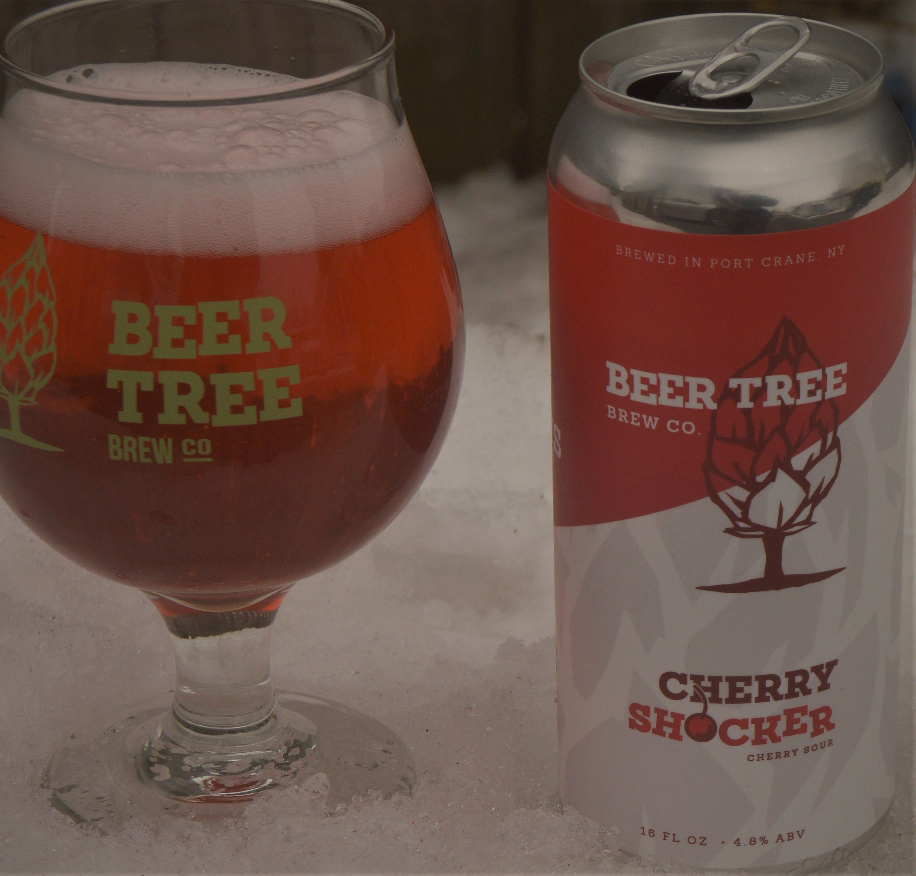 Cherry Shocker Cherry Sour Beer Tree Brew Co Good Shocking No Unless Maybe If You Ve Never Had Anything Sour Cider Drinks Brewing Co Sour Beer