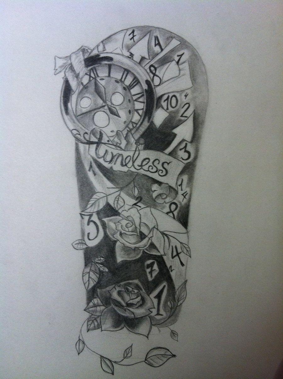Timeless Clock Tattoos Timeless Love Tattoo Timeless Tattoo By Timeless Tattoo Tattoos Arm Tattoos Drawing