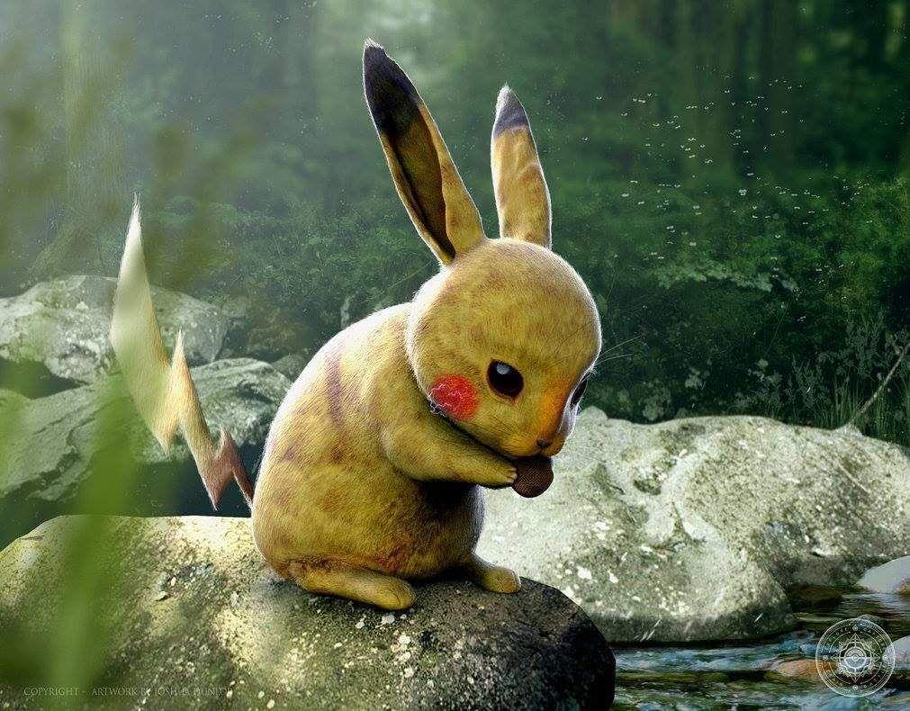 Pokémon - Artista cria artes realistas maravilhosas! - Legião dos Heróis
