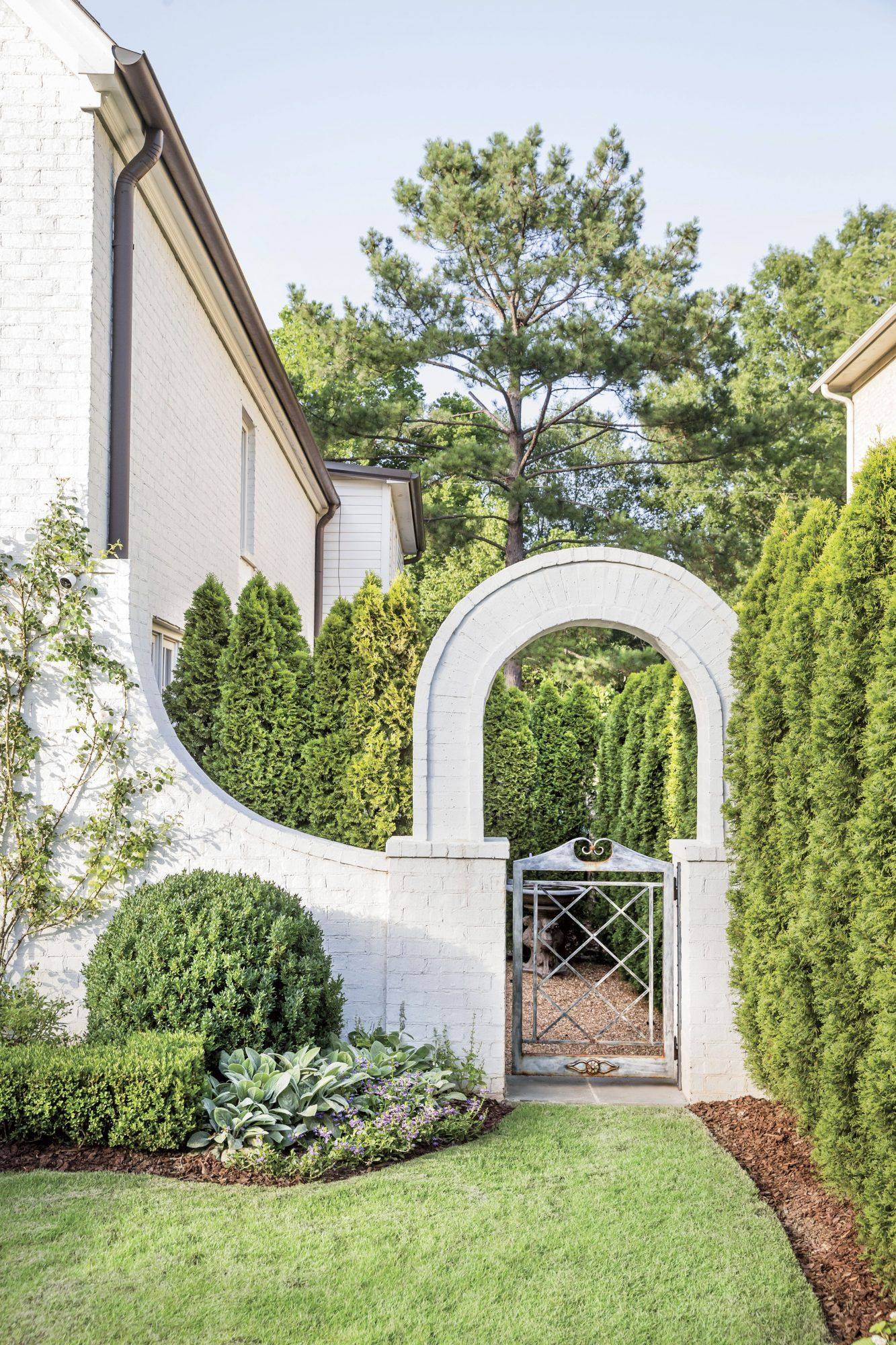 How Landscaping Added Instant Charm to this New Birmingham Home   Southern Living