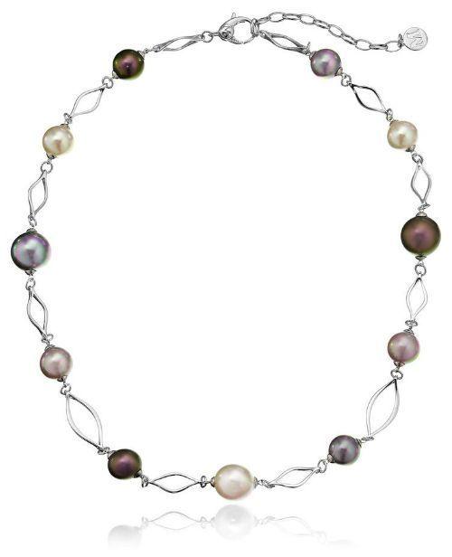 Majorica Plume Multi-Pearl Necklace UD6noB