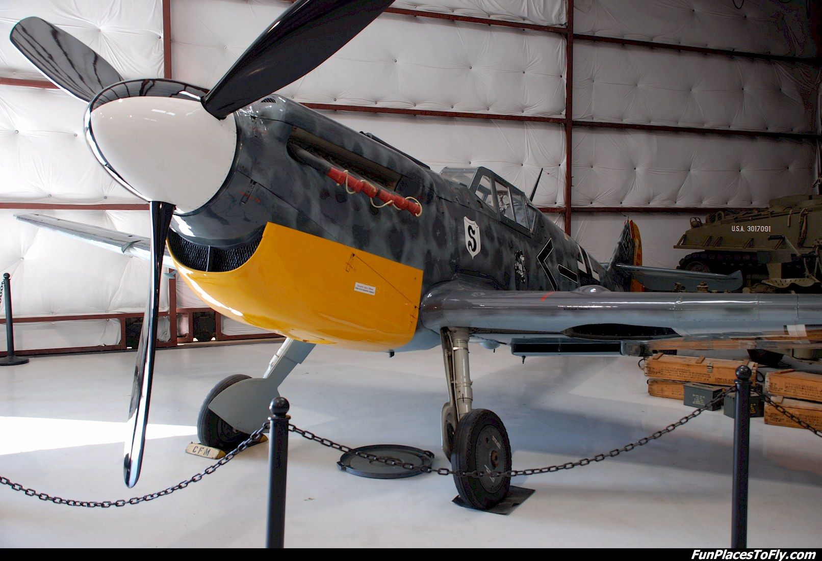 Aviation - Aircraft Photo - Messerschmitt Me-109 http://www.FunPlacesToFly.com