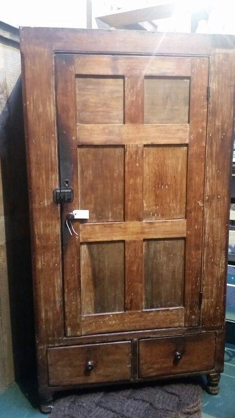 Antiques primitive cabinet