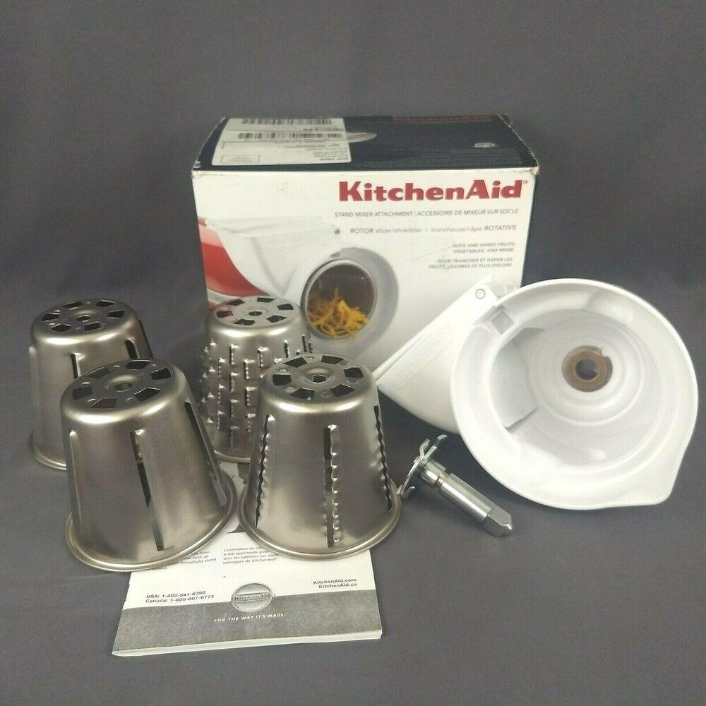 Kitchen aid rotor slicer shredder stand mixer attachment