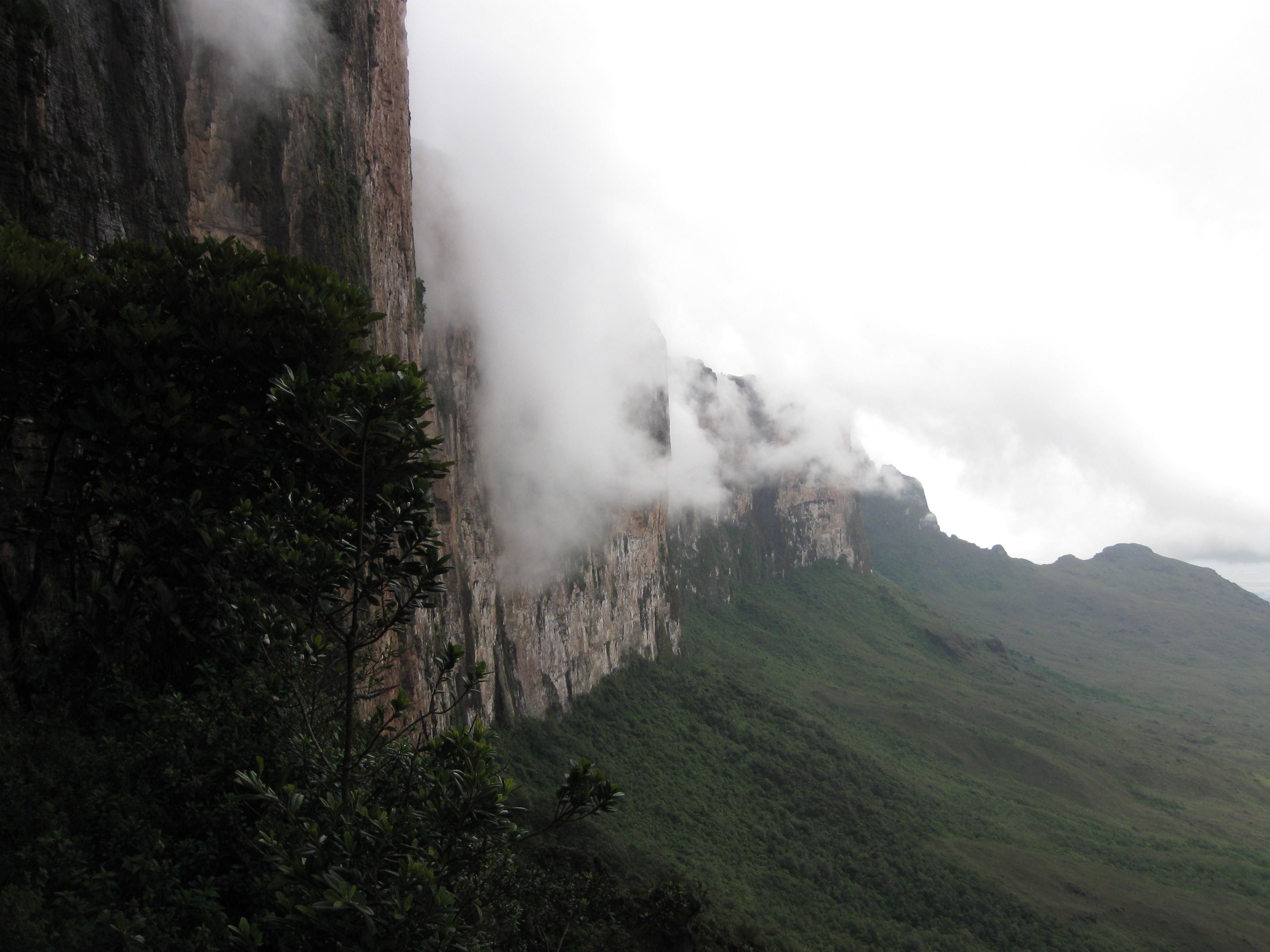 En ascenso a la cima del tepuyRoraima, Venezuela