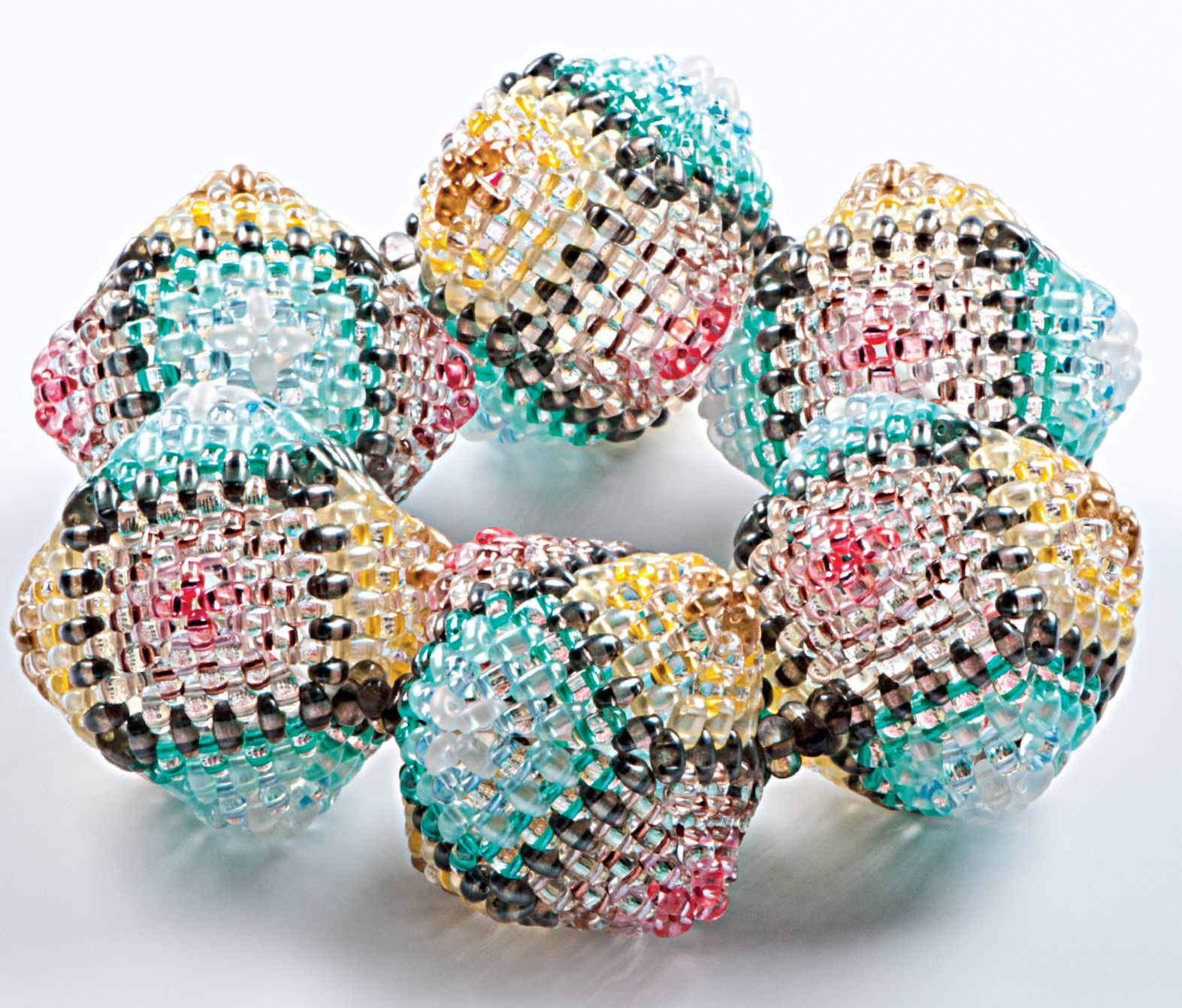 Sewn Seed Bracelet Twin Beads Seed Beads Jewelry Making Beaded ...